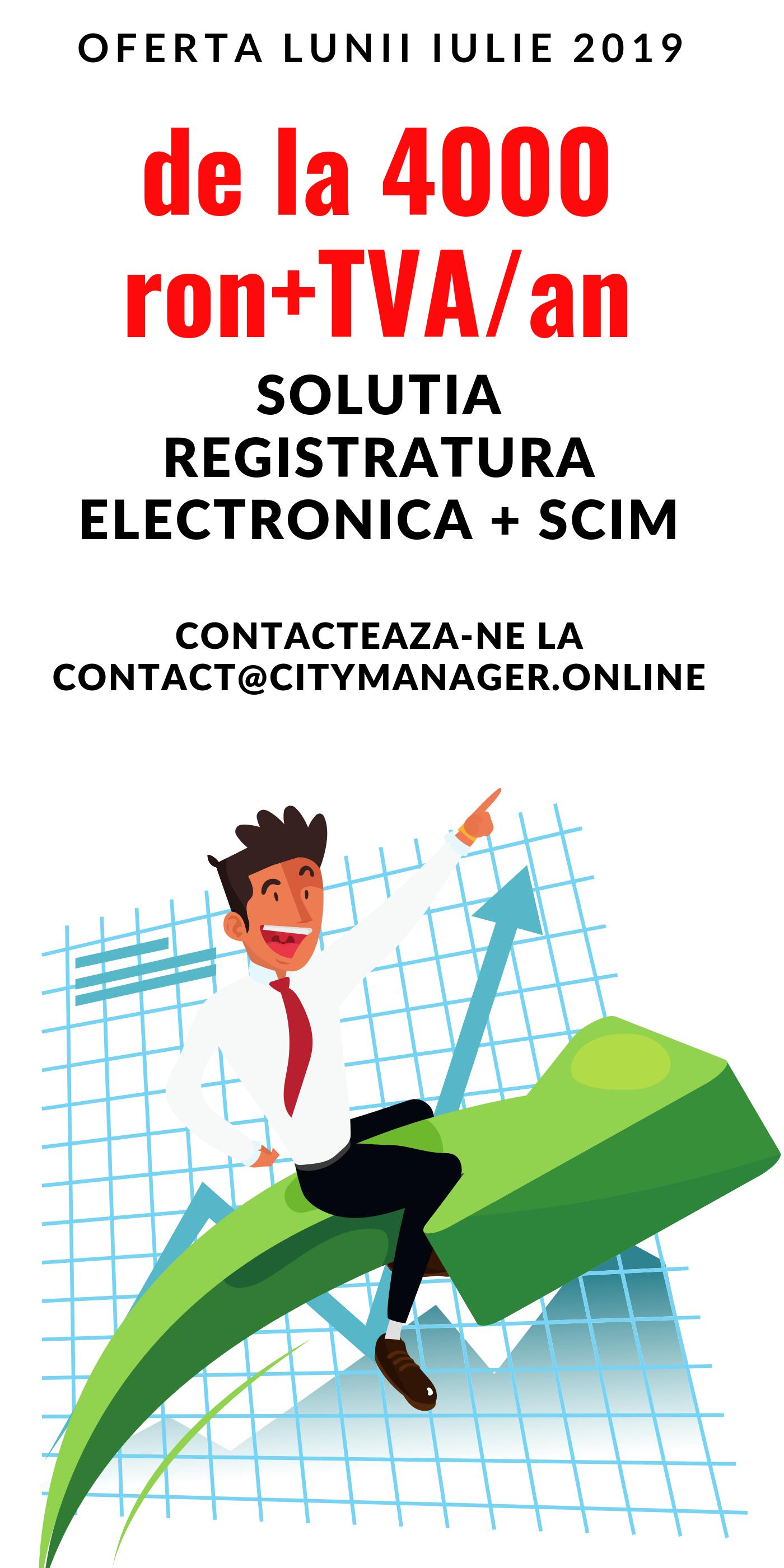 registratura electronica